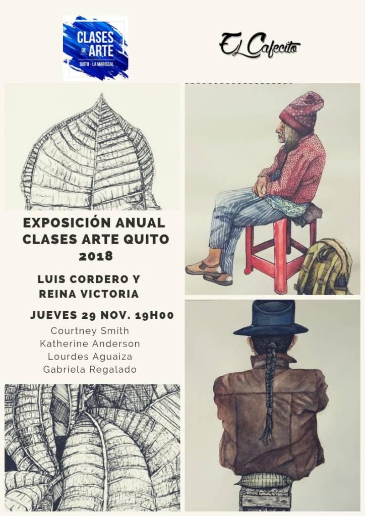 Muestra Anual de Clases de Arte Quito 2018
